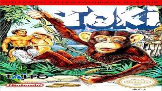 TOKI (JuJu Densetsu / JuJu伝説) - NES LONGPLAY - NO DEATH / NO MISS RUN (FULL GAMEPLAY)
