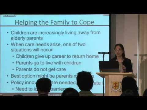 'Policies regarding Population Ageing in China' by Professor Yaohui Zhao