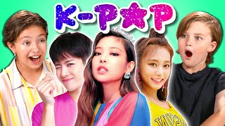 Kids React To K-Pop