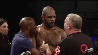 HEAVYWEIGHTS MARTIN BAKOLE ILUNGA vs DOMINIC AKINLADE - Black Flash Pomotions 29 - 07 - 2017