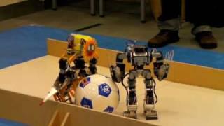 The 2nd Hosei Univ Robot Competition Big Ball Pushing Game