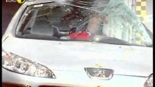 Краш тест Peugeot 407 2004 (E-NCAP)