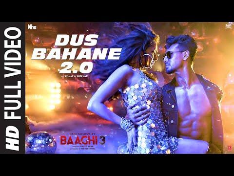 full-video:-dus-bahane-2.0- -baaghi-3- -vishal-&-shekhar-feat.-kk,-shaan-&-tulsi-k- -tiger,-shraddha