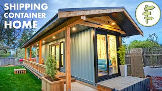40ft Shipping Container Converted into Amazing Tiny House - Full Tour