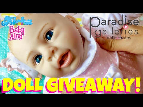 🎁 Giveaway!!! Paradise Galleries Rachael & Ramsey Doll Unboxing! New Flex-Touch Vinyl Material!👍🏼