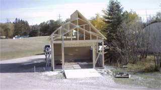 Green Garage Construction Time-lapse