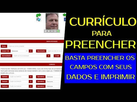 Curriculo pronto para preencher e imprimir grátis from YouTube · Duration:  1 minutes 16 seconds