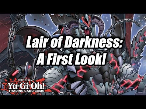 Yu-Gi-Oh! Lair of Darkness Structure Deck: A First Look!