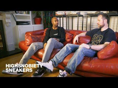 Rip Hamilton Checks Out Gerard Starkey's Incredible Air Jordan Collection