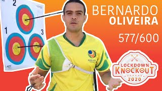 Bernardo Oliveira shoots 577/600 for qualification | Lockdown Knockout