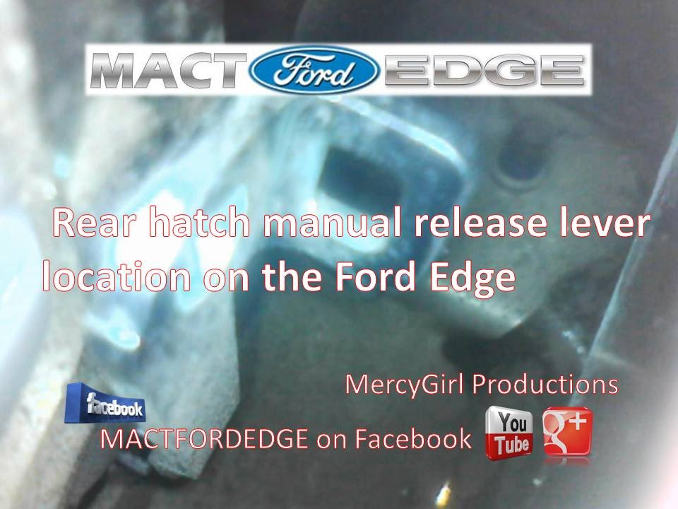2013 ford edge owners manual pdf