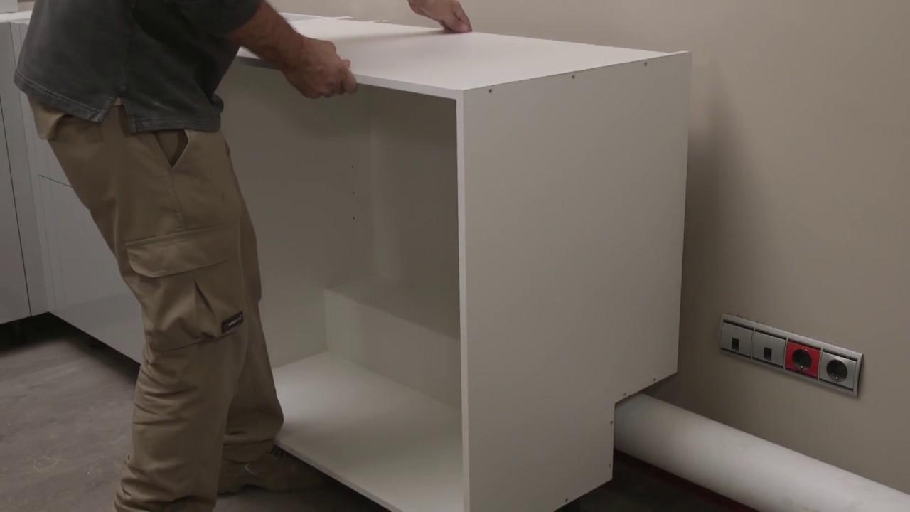 TPC Cocinas: Montaje de mueble de cocina bajo con cajeado horizontal