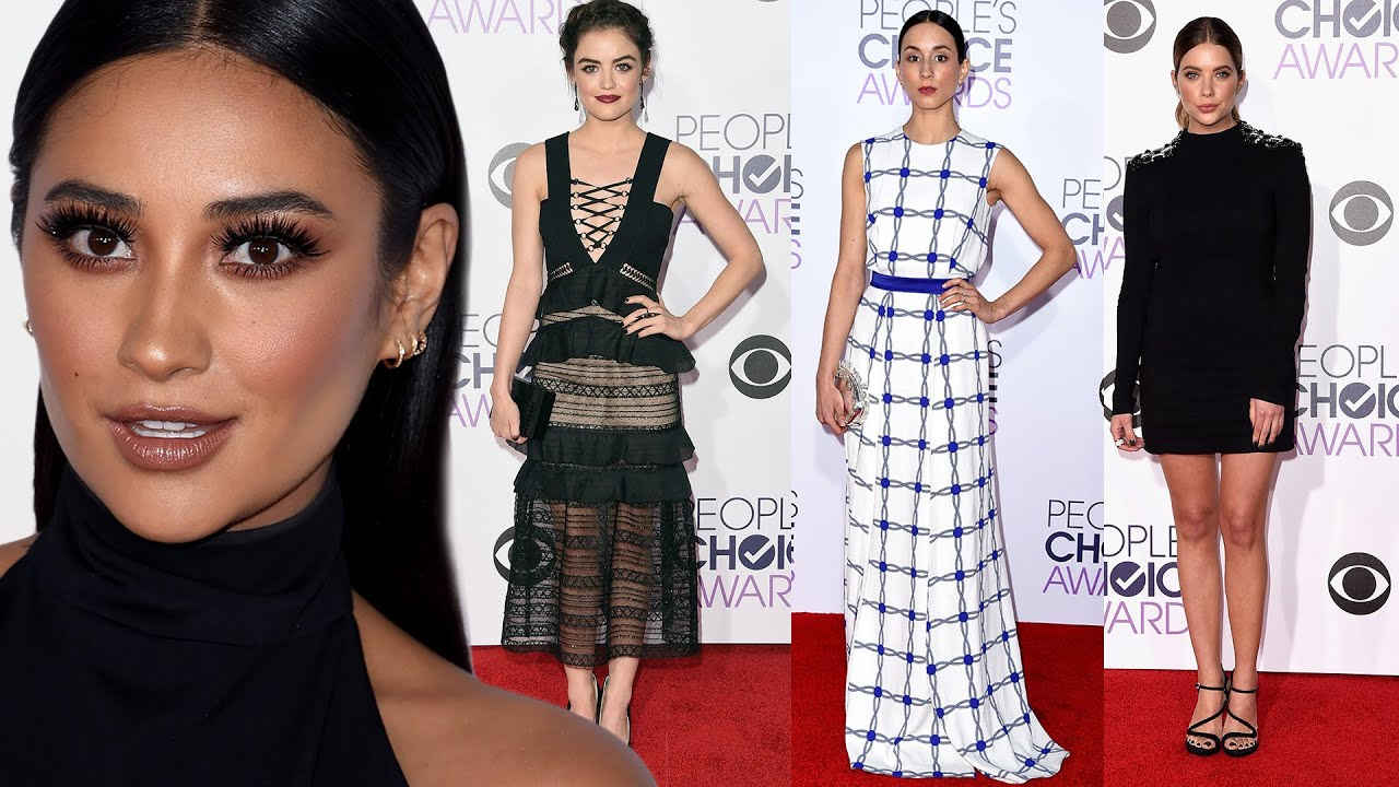 Pretty Little Liars Sexy Fashion At 2016 People 39 S Choice