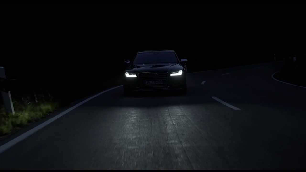 2014 Audi S8 Night Driving Automototv Youtube