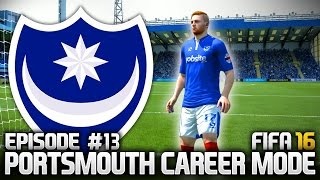 FIFA 16: PORTSMOUTH CAREER MODE #13 - THE GINGER BEAST!!!