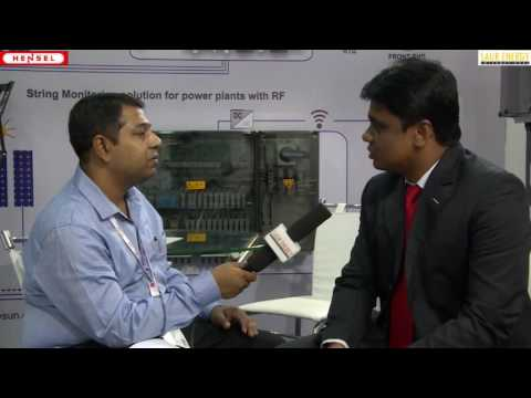 Interview With Debashish Ghosh Sales Manager, Hensel Electric India Pvt  Ltd