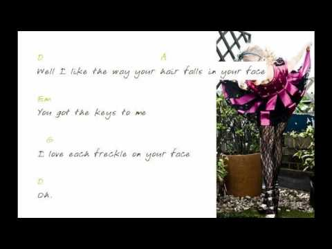 Jump then Fall - Taylor Swift - Lyrics with Chords for Guitar
