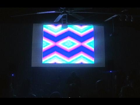 KODEK LIVE @ Coaxial Arts LZX video party