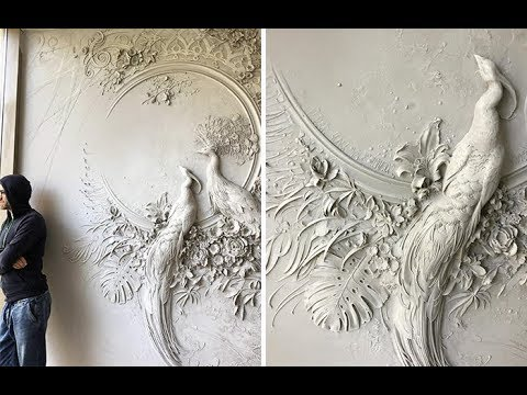 Russian Artist Uses Ancient Technique To Turn Walls Into Art