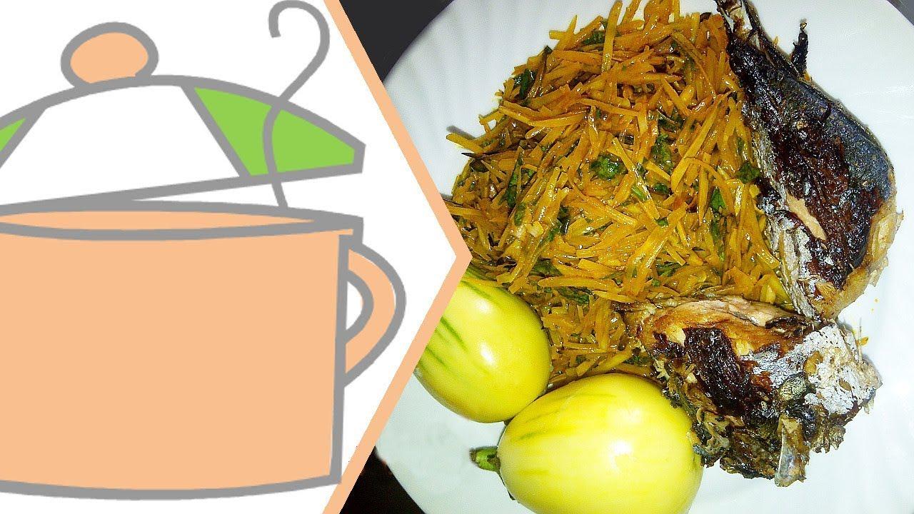 How to Make Abacha & Ugba (African Salad) | Flo Chinyere