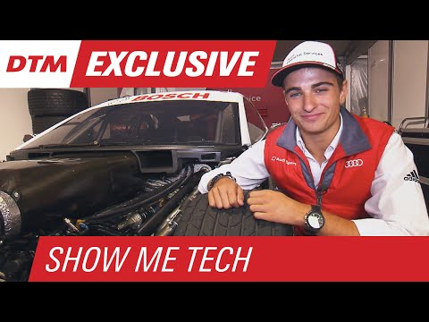 Shock Absorbers Explained w/ Nico Müller – Show Me Tech! – DTM Oschersleben 2015