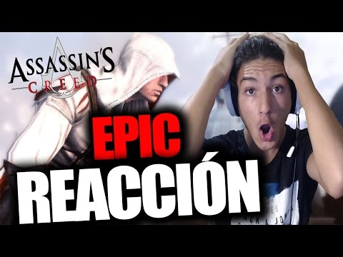 REACCIÓN Trailer Assassin's Creed EZIO COLLECTION - RAFITI