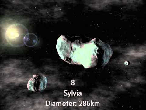 top ten largest asteroids