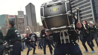 MSU Drumline Everybody