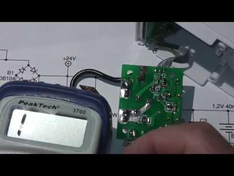 Reparatur Zeitschaltuhr, Schaltuhr, Kondensatornetzteil (1/2) (003 ...