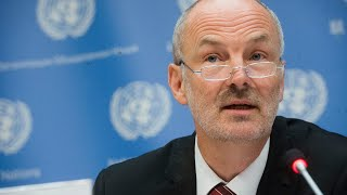 Estonia (Security Council President) on the programme of work of the Council in May 2020 Virtual Press conference by Ambassador Sven Jurgenson, Permanent Representative of #Estonia to the United Nations and President of the Security Council ..., From YouTubeVideos