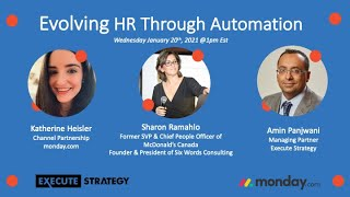 Webinar  Evolving HR through Automation Jan 20