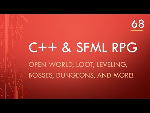 C++ & SFML | Open World RPG [ 68 ] | Making the sidebar - PakVim net