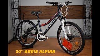 Обзор Подросткового Велосипеда ARDIS ALPINA на колесе 24 дюйма.