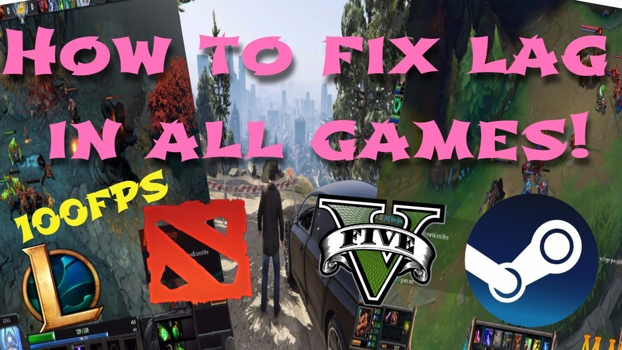 How to fix lag in all games/online games 100%WORKING (2017)