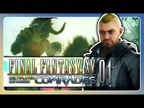 Online MULTIPLAYER?! ★ #01 • Let's Play Final Fantasy XV Gefährten [ Deutsch / PS4 Pro ]