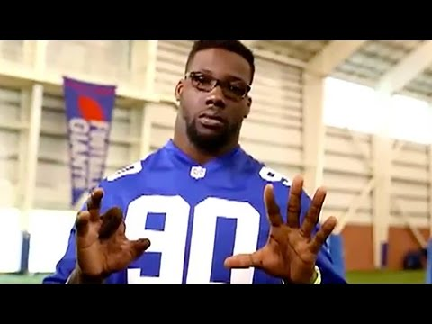 Jason Pierre-Paul Shows Off Mangled Hand In Fireworks Safety PSA