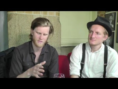 The Lumineers interview - Wesley & Jeremiah (part 1)