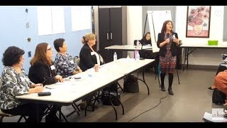 APS  Native American Open Community Forum, Yvonne Garcia ; Associate Superintendent