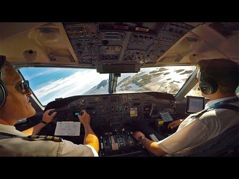Dash 8 -100 landing Røst (ENRS)