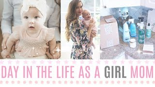 Day in the life of a Girl Mom- Dailv Vlog- Target Haul, Home goods & The Grove