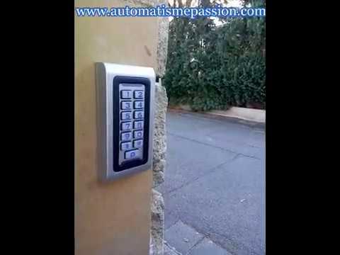 Installation Digicode Sur Portail Ou Portillon