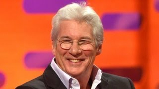Richard Gere gets recognised in unlikely places - The Graham Norton Show - BBC One