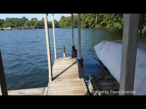 Treating a Boat Dock for Spiders
