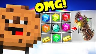 *INFINITY GAUNTLET* IN COOKIE CAMP | MINECRAFT MODDED MINIGAME! | JeromeASF