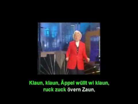Heidi Kabel - Der Jung mit dem Tüdelband (mit Karaoke-Text)