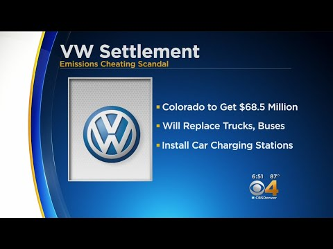 Colorado To Get $68.5 Million In VW Settlement