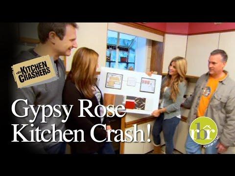 HGTV Kitchen Crashers Gypsy Rose Kitchen