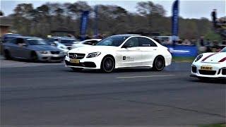 Mercedes-Benz C63S AMG - DRAG RACE Compilation!
