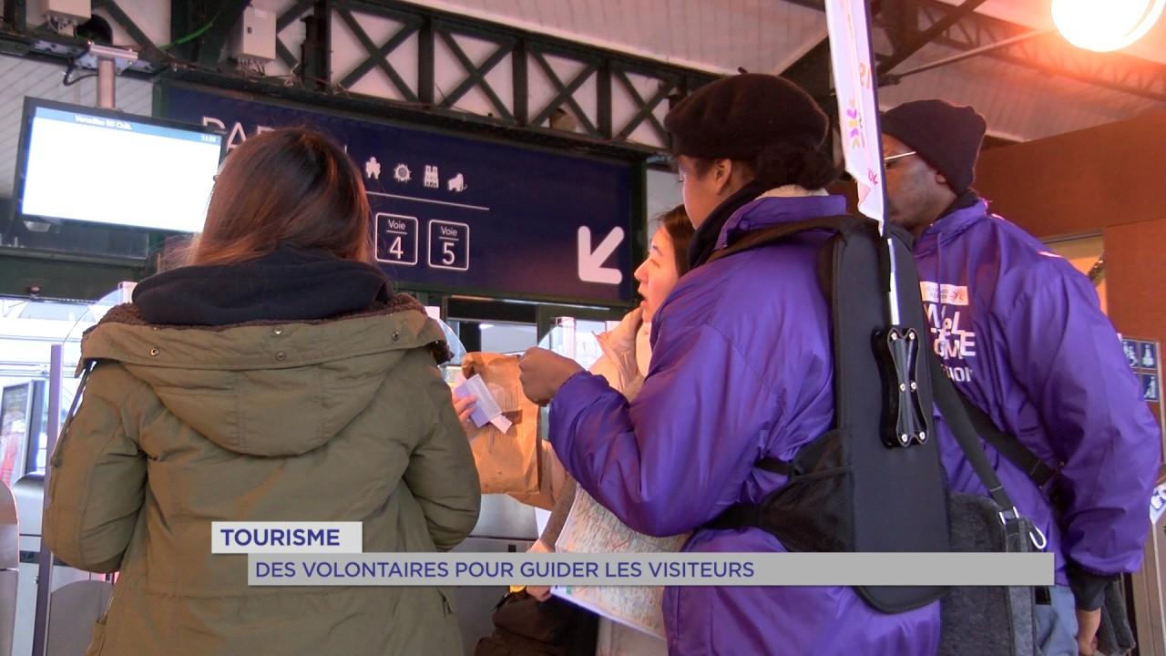 Tourisme : des volontaires pour guider les visiteurs en Île-de-France
