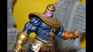 Diamond Toys Disney exclusive Marvel Select Thanos Action Figure Toy Review